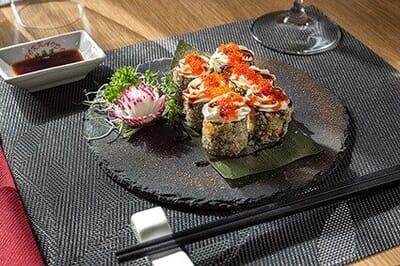 hokkaido frascati ristorante giapponese hosomaki fritto salmone cotto phildelpia tobiko