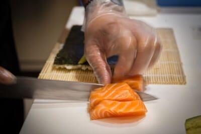 hokkaido giapponese frascati salmone