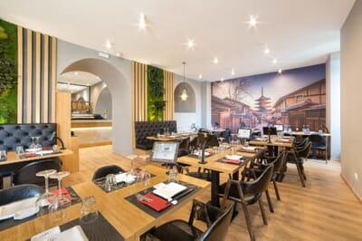 hokkaido ristorante giapponese tavoli