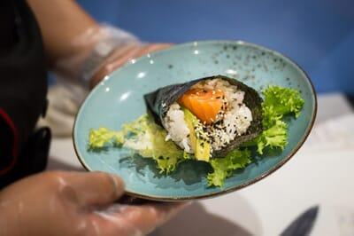 hokkaido giapponese frascati suhi piatto